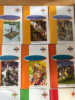 Libros de inglés (5€ cada uno)