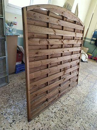 Biombos madera reciclada (2)