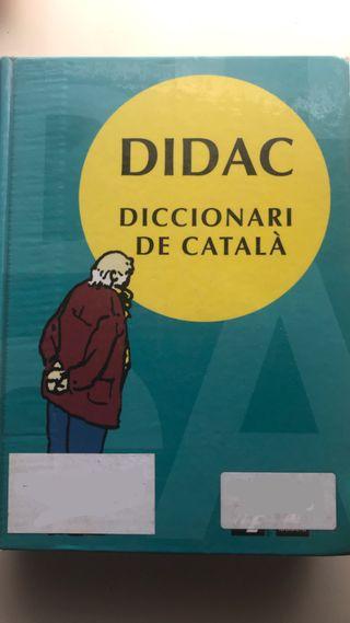 Diccionario en catalán DIDAC