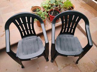 silla jardín
