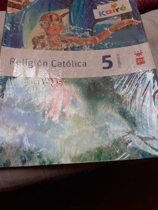 libro Religión de 5 Primaria