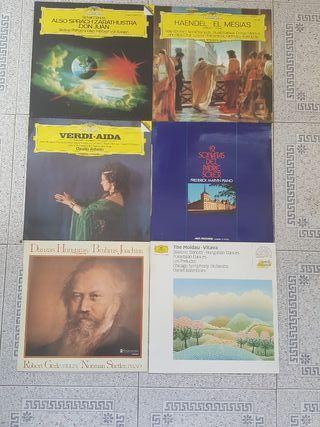 Lote de discos de vinilo clásicos