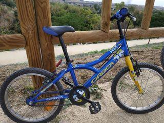 Bicicleta niño 18 pulgadas. Marca Orbea