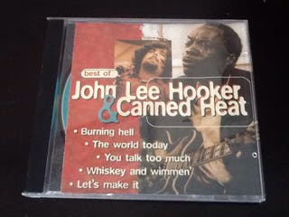 "Cd ""John Lee Hooker & Canned Heat"