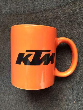 KTM taza tanque Naranja