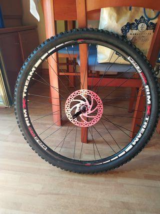 rueda trasera dw bicicleta rodado 26