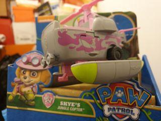 muñecos patrulla canina