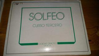 SOLFEO, CURSO TERCERO ED. SOCIEDAD DIDÁCTICO MUSIC