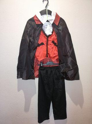 Disfraz conde Dracula 1-2 años