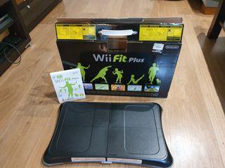 Wii Fit Plus con juego oficial