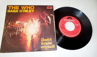 The Who vinilo sp 45