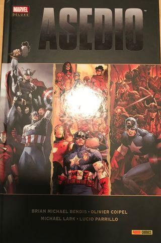 Comic Marvel Asedio