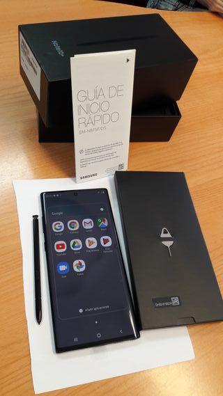Móvil Samsung GALAXY NOTE 10+ 256 GB 5G nuevo