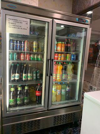 Expositor frigorífico de bebidas