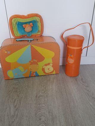 Conjunto TUC TUC: maleta, toallitas y para biberón