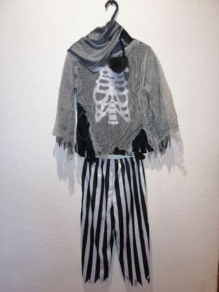 Disfraz pirata fantasma 4-6 años