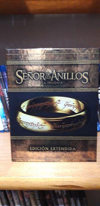 El señor de los anillos edición extendida.