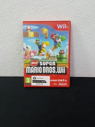 Juego New Super Mario Bros.Wii N Wii