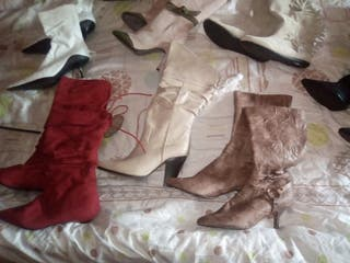 botas y zapatos mujer desde 10€ sin estrenar