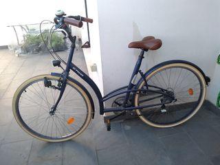 bicicleta de paseo holandesa Decathlon