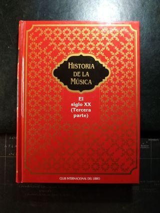 Historia de la Música - 12 vols. tapa dura