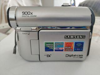 Cámara de vídeo y fotos digital Samsung