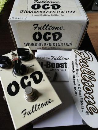 Pedal guitarra distorsión overdrive Fulltone OCD