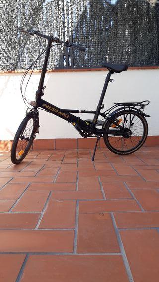 Se vende bicicleta plegable Nishiki Nautic D5