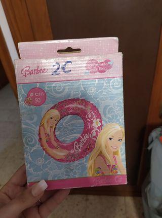 flotador barbie
