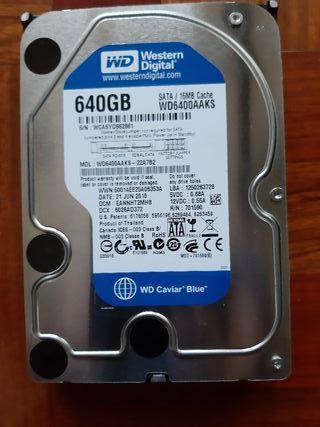 Disco duro 3.5 WD 640 GB