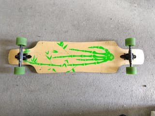 Longboard green hand!