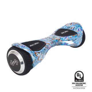 hoverboard dibujo calavera , nuevo, bluetooth,