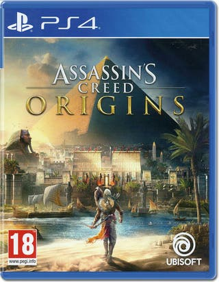 Videojuego ps4 Assassins creed origins