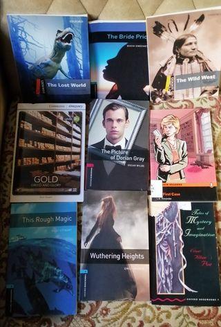 Libros de lectura Ingles A1 A2 B1 B2