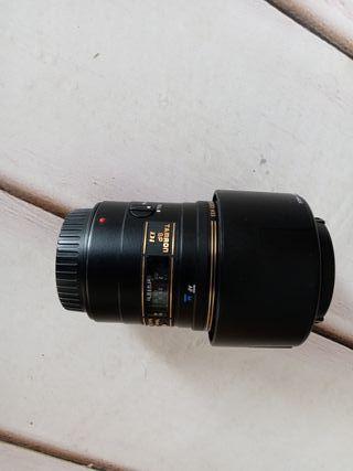 objetivo macro tamron 90 mm para canon