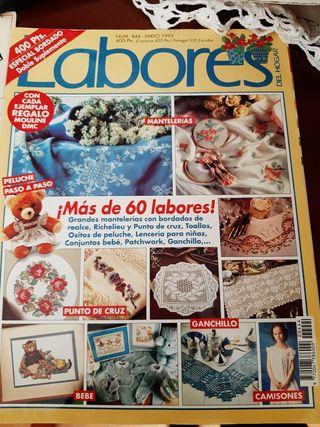 revistas punto cruz