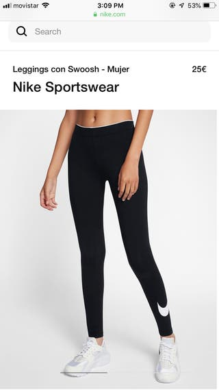Nike running leggings, mallas correr