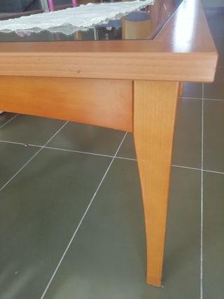 Mesa de centro.Color cerezo.