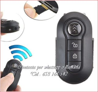 Llave coche indetectable full-HD