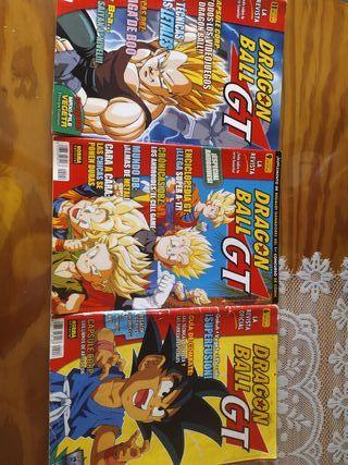revistas de dragon ball gt