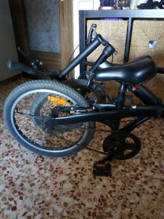 bicicleta plegable perfecto estado