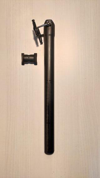 Tija Sillin carbono 7tiger 31.6 x 400