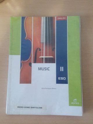 Libro MÚSICA en inglés 2 ESO