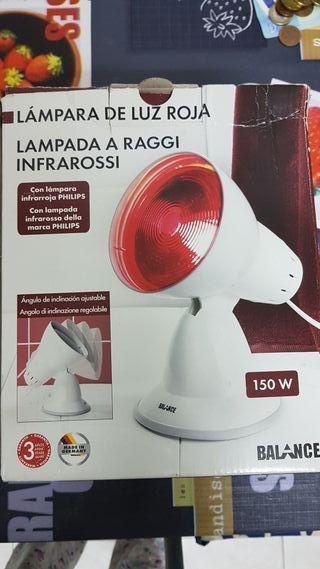 Lámpara de luz roja