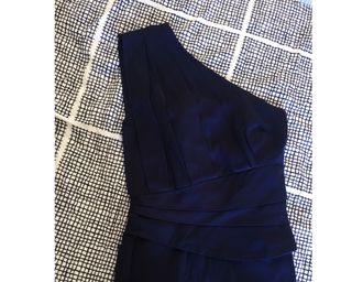 Vestido fiesta azul Asos T36