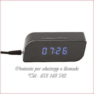 reloj WI-FI oculto dispositivo