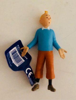 Figura PVC TINTÍN Jersey azul