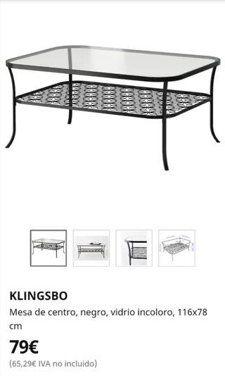 mesa de centro de ikea