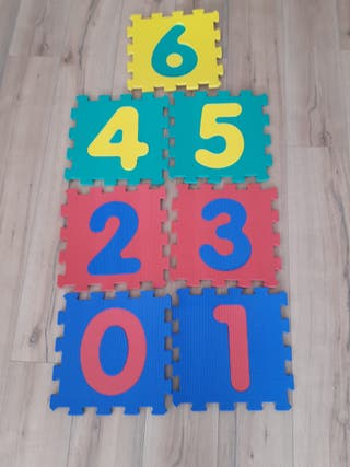 puzzle suelo foam