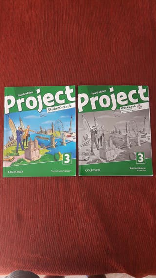 NUEVOS PROJECT STUDENT'S BOOK y WORKBOOK